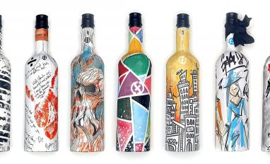Image of Frugalpac wine bottles