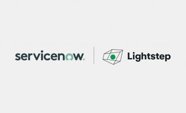Image of ServiceNow Lightstep logo