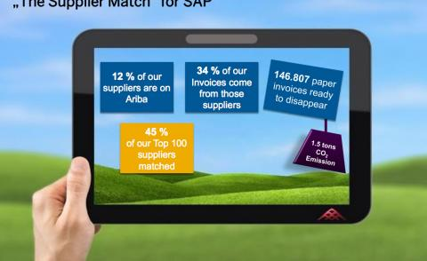 sap supplier match