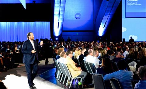 Marc Benioff Salesforce Dreamforce