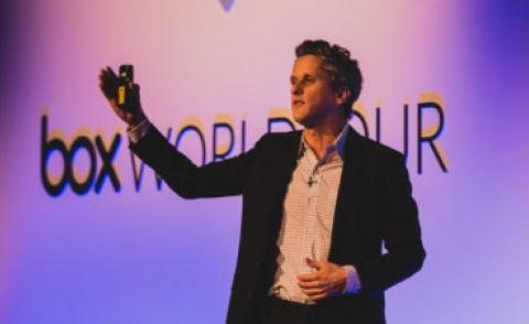Aaron Levie Box World Tour London 2017