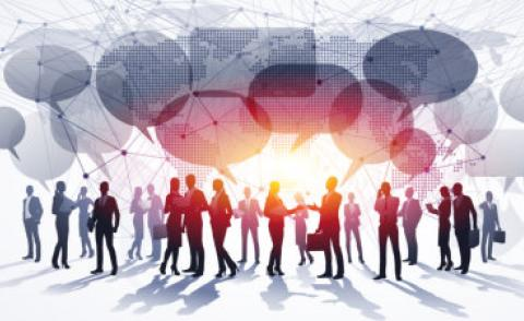 Business people global communications © Maksim Pasko - Fotolia.com