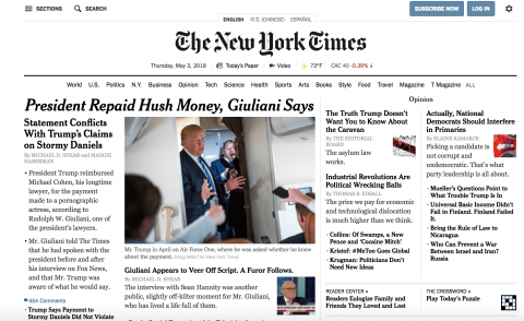 new york times cloud native