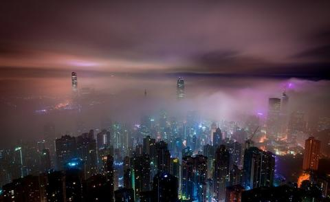 Image of a city - Hong Kong