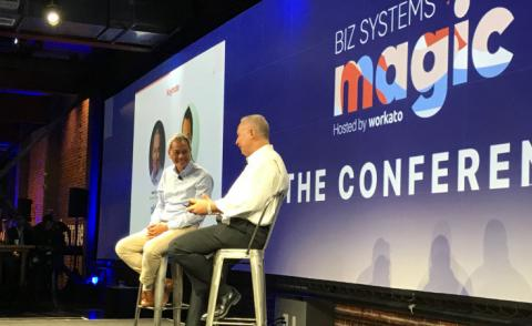 Eric Tan Mark Settle at Biz Systems Magic 2019-08 by @philww