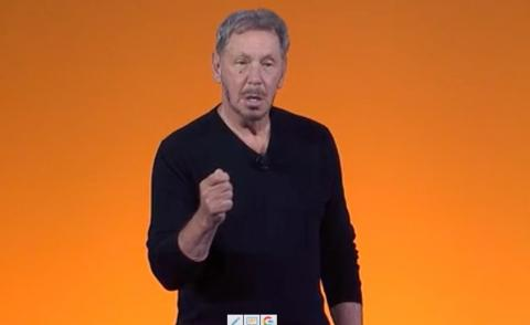 Larry Ellison keynote Oracle OpenWorld 2019