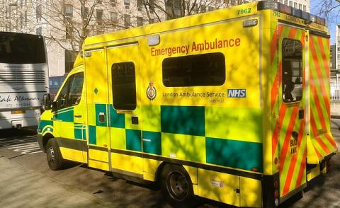 Image of a London Ambulance
