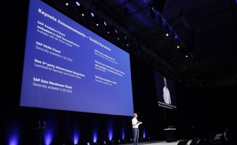 SAP TechEd announcements barcelona