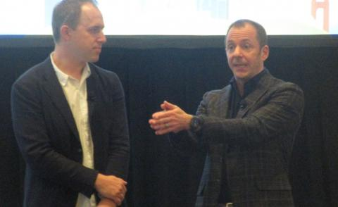 Francois Agenstat and Bret Taylor at Tableau 2019