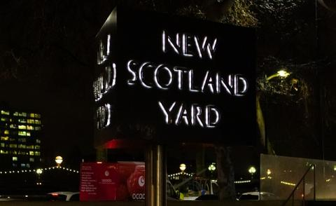 Image of New Scotland Yard Met Police