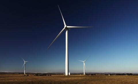 Image of a wind farm
