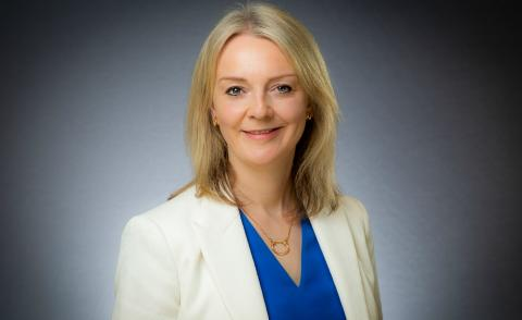 Image of Liz Truss Secretary of State for International Trade