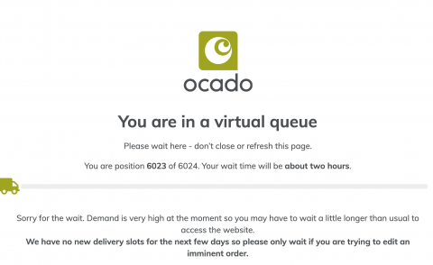 ocado screnshot 2