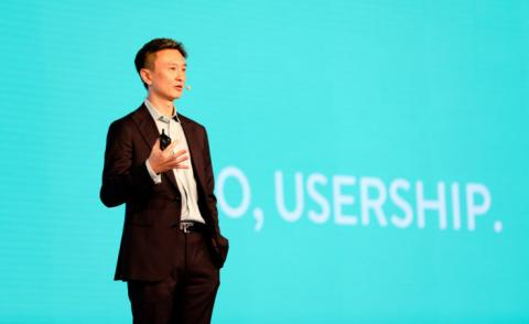 Tien Tzuo CEO Zuora speaks at Subscribed 2019