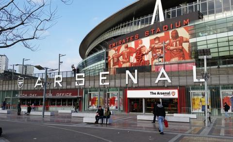 Image of Arsenal Football Club stadium