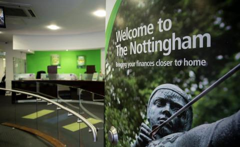 Image of a Nottingham Building Society branch