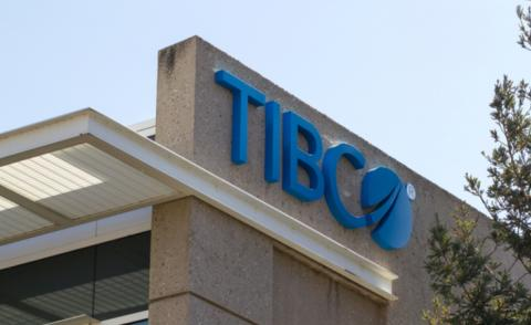 Sign at TIBCO Software Inc HQ in Palo Alto, editorial use only © Tada Images - shutterstock