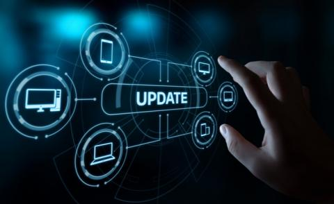 Software Computer program upgrade business technology internet concept © Alexander Supertramp - Shutterstock