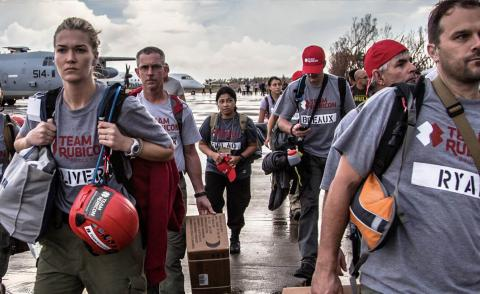 Image of a team of Team Rubicon volunteers