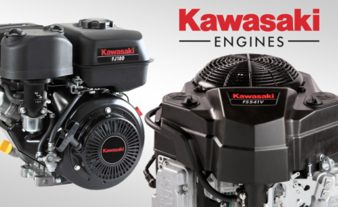 Image of some Kawasaki engines