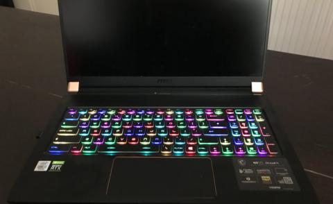 Disco keyboard - for video meetings?